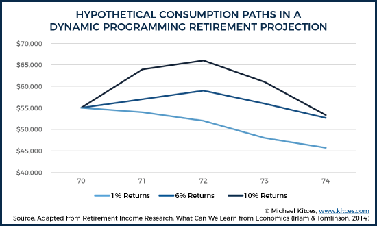 Hypotehtical Consumption Paths In A Dynamic Programming Retirement Projection